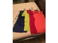 Various dresses and boots job lot