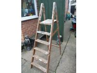 Vintage decorators Ladders