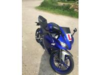 Yamaha r125 2014 blue (not mt125, r6,r1, gsxr)