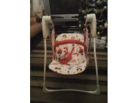 Graco Battery operated Baby rocker in excellent condition.