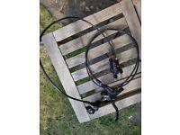 Shimano Hydraulic brakes BR-M395