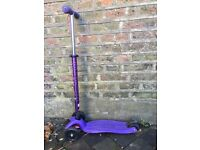 Purple Maxi Micro scooter - good condition