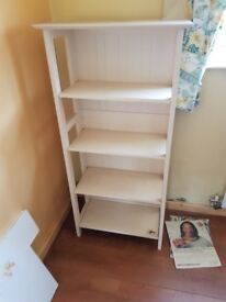 White small bookcase. FREE delivery in Derby