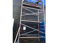 Youngman 6.2m alloy scaffold tower