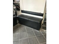 Leather Storage Benches