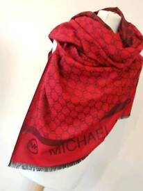 Christmas Red Scarf