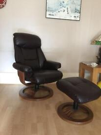 Harvey's Relaxer Chair with Foot Stool