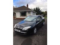 Black Renault Laguna Dynamique DCI 110. 1.5cc. Diesel - SUPER CAR - BLACK - 6 speed manual gear box