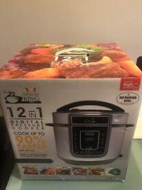 Digital Pressure Cooker + Rice Cooker + Non Stick Griller + Non Stick Fry Pan