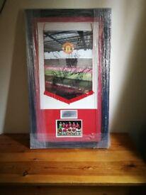 Man Utd signed memorabilia