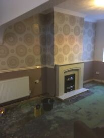 Painter & Decorator, Laminate Floor Fitter, Furniture Assembler. (Based in Widnes Cheshire)