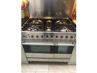Britannia 90 cm Cooker Twin oven