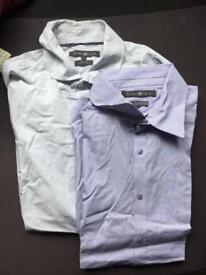Lot of 2 shirts from French brand size L