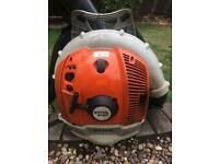 Stihl br550 Two stroke 4mix Petrol leaf blower spares or repairs