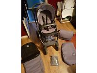 Oyster 2 Special Edition Pram, Car Seat & Accessories