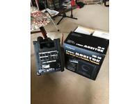 Portable monitor/ speaker