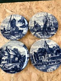 4 plates made from Holland