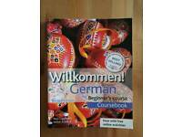 German beginner's course book + activity book