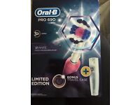 Oral b 690 pro 3D white pink limited edition