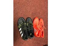 Used addidas football boots