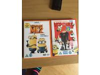 Despicable me 1 and 2 on DVD