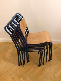 School chairs / retro dining chairs