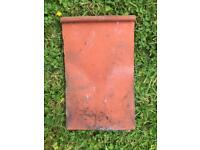 Approx 170 terracotta roof tiles