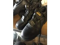 Site safe safety boot / shoes size 6