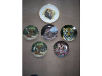 china collectors plates £2.00 and £3.00 each all in good condition