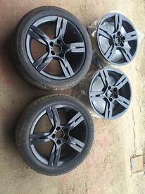 Seat Ibiza FR Alloy Wheels and tyres 16""