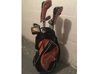 Full set Callaway X 18 golf clubs