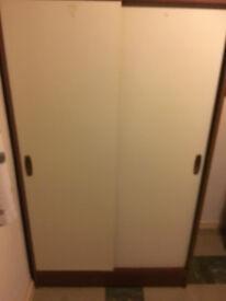 White fronted wardrobe