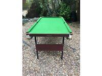 Pool Table (Pot Black)