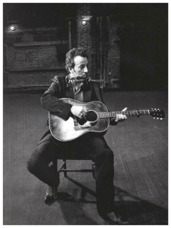 Bruce Springsteen - POSTER - B&W wall art pic - AMAZING pic