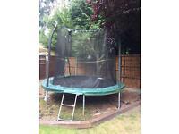 10ft trampoline!