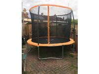 10ft trampoline for sale. Only 3 months old.