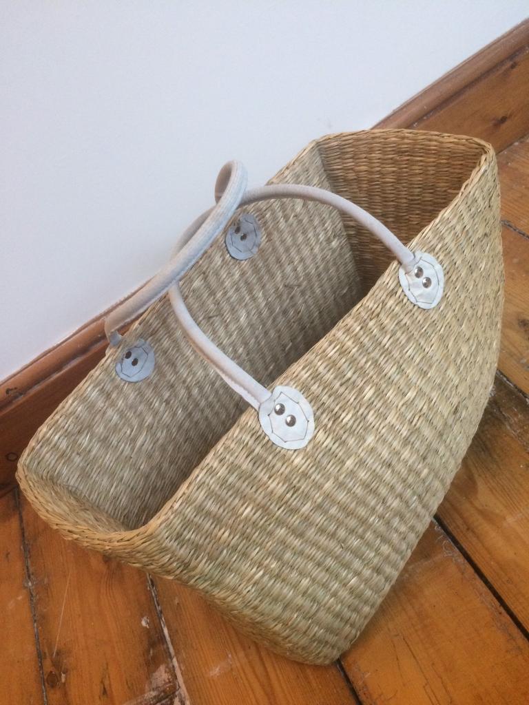Large Wicker Hand Basket