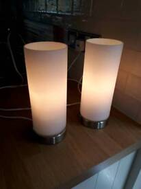 Pair of touch control lights