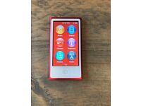 Red IPod Nano - 16GB - Excellent condition (engraved w/ Name + Phone number)