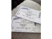 2 x All time low tickets for tonights sold out performance at O2 academy Newcastle