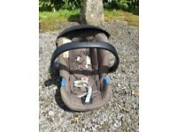Mamas & Papas 3 in 1 travel system including car seat with adapters