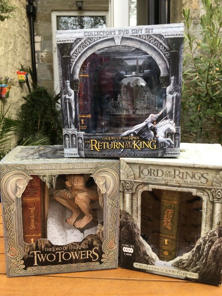 LORD OF THE RINGS - COLLECTABLE LTD EDITION FIGURE DVD BOX SETS | in  Rossendale, Lancashire | Gumtree