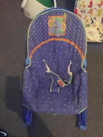 Fisher price rocker and vibration seat