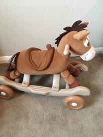 Toddlers Bullseye ride along horse