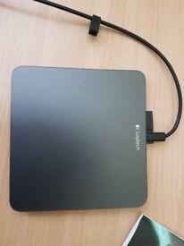 Flat mouse logtech touch pad