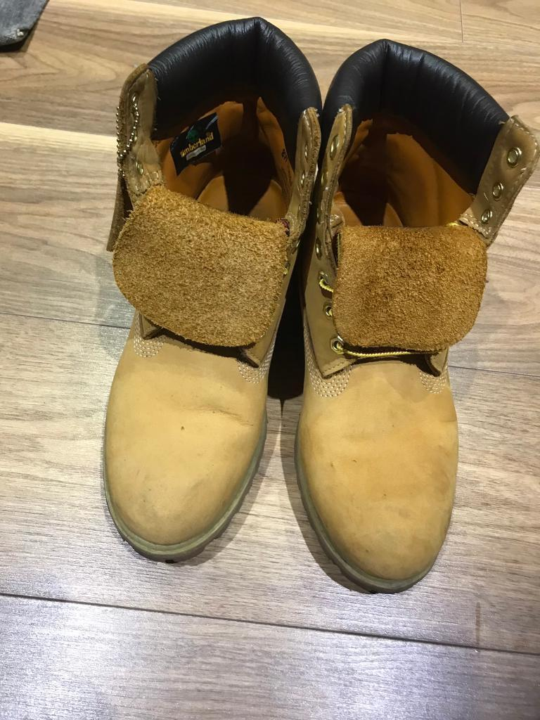 Timberlands Boots - Size 8