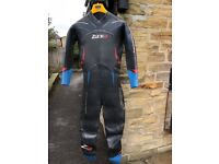 Zone 3 Vision wetsuit - Mens Large