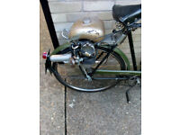 Powerpak 50cc syncromatic motorised bicycle.