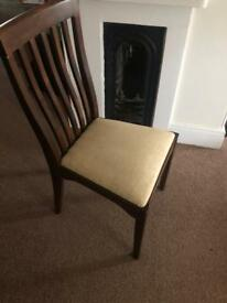 Laura Ashley: A set of 4 dining chairs