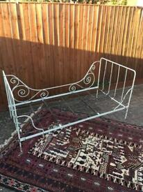 Vintage 20th century French day bed